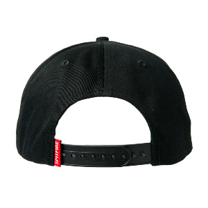 BIGHEAD SNAPBACK - BLACK/RED