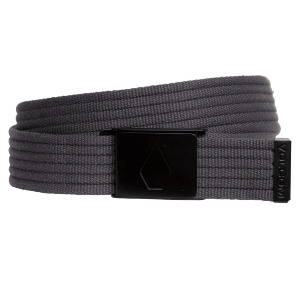 STRAP WEB BELT - ASPHALT BLACK