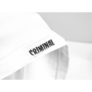 CONTRAST PREMIUM TEE - WHITE/HEATHER GREY
