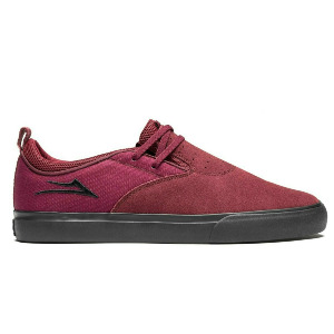 RILEY HAWK 2 - BURGUNDY/BLACK SUEDE