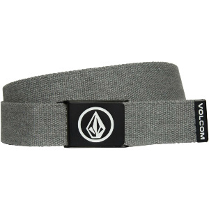 CIRCLE WEB BELT - CHARCOAL HEATHER