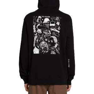 MIKE GIANT PULLOVER - BLACK