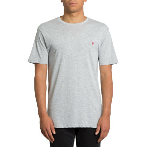STONE BLANK BSC SS - HEATHER GREY