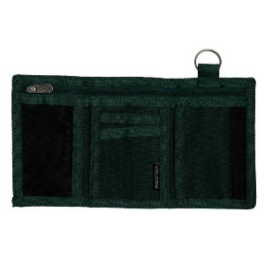 NYLON STONE WALLET - EVERGREEN