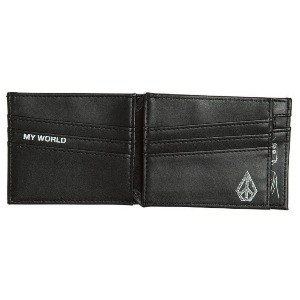EMPTY PU WALLET - BLACK COMBO