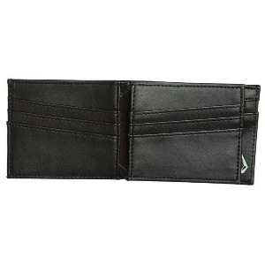EMPTY PU WALLET - BLACK
