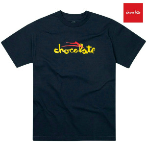 CHOCOLATE FLARE TEE - NAVY