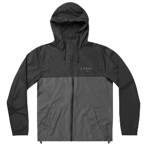 STACKED WINDBREAKER - BLACK