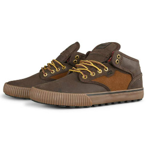 Motley Mid WNTR - Brown/Tan/Plaid