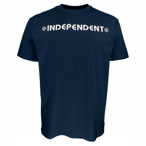 Bar Cross Tee - Navy