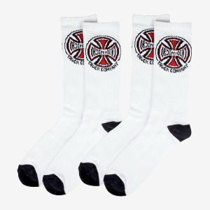 Truck Co. Socks 2 pack - White
