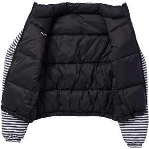 PUFFS N STUF REV JKT - BLACK
