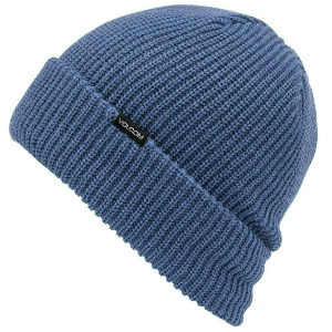 POLAR LINED BEANIE - WASHED BLUE