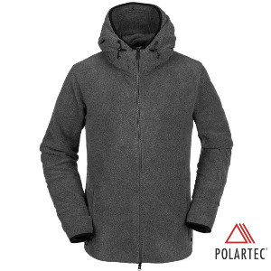 POLARTEC® FLEECE - HEATHER GREY