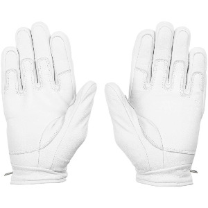CRAIL LEATHER GLOVE - WHITE