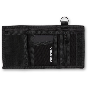 BOX STONE WALLET - BLACK