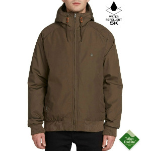 HERNAN 5K JACKET - MAJOR BROWN