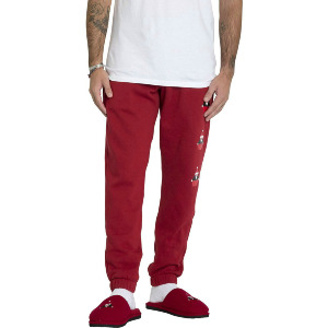 SANTASTONE FLC PANT - DEEP RED