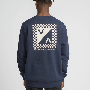 CHECK MATE PULLOVER - NAVY MARINE