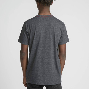BIG RVCA VINTAGE SS - CHARCOAL HEATHER