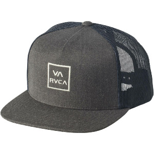 VA ALL THE WAY TRUCKER HAT - CHARCOAL GREY