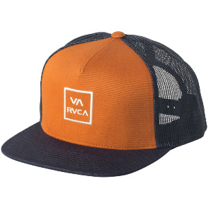VA ALL THE WAY TRUCKER HAT - MUSTARD GOLD