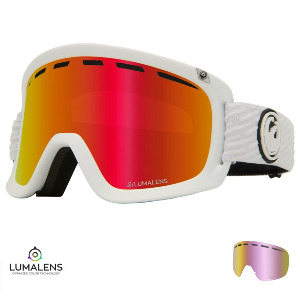 D1 OTG - PK WHITE/Lumalens RED IONIZED + Lumalens PINK IONIZED Lens