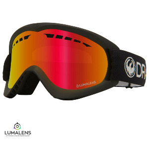 DX - BLACK/Lumalens RED IONIZED Lens