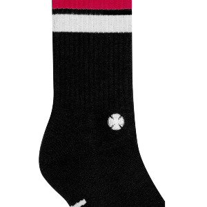 INDY CREW SOCK - BLACK