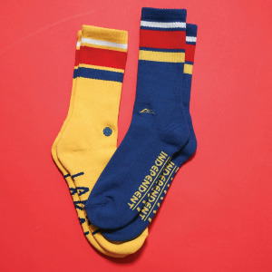 INDY CREW SOCK - NAVY