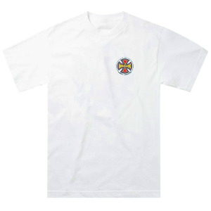 INDY SS TEE - WHITE