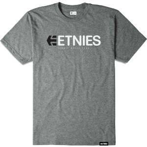 ICONIC TEE - GREY/HEATHER
