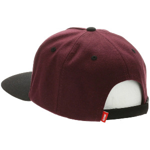 Hank Snapback - Berry Black