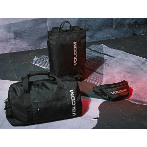 UTILITY DUFFLE SPORT BAG - BLACK