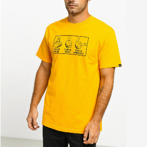 THIS IS EMERICA TEE - GOLD