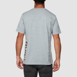 PIN DOWN SS VA SPORT PERFORMANCE SS - ATHLETIC HEATHER
