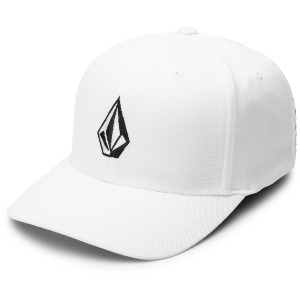 FULL STONE XFIT CAP - WHITE