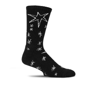 CONSTELLATIONS SOCK - BLACK