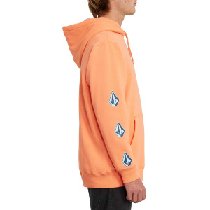 DEADLY STONES 2 PULLOVER - SALMON