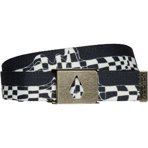 STONE CUT WEB BELT - NEW BLACK