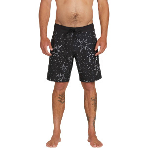 "LUMINATOR MOD 19"" BOARDSHORT - BLACK"
