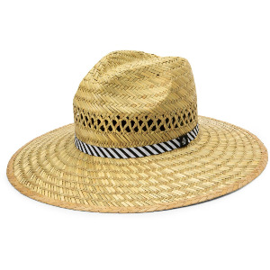 THROW SHADE STRAW HAT - NATURAL