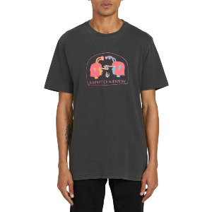 OZZY SUBJECTS S/S TEE - BLACK