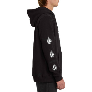 DEADLY STONES 2 PULLOVER - BLACK COMBO