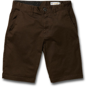 FRICKIN MODERN STRETCH SHORT - DARK CHOCOLATE