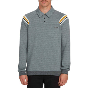 CJ COLLINS VPOLO CREW SWEATER - COOL BLUE