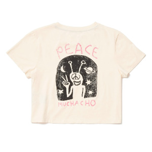 OZZY SS TEE - LIGHT PEACH