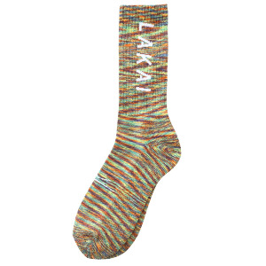 SIMPLE CREW SOCK - RAINBOW