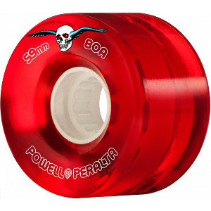 H2 CLEAR CRUISER 80A 59mm - RED