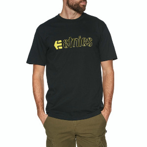 ECORP TEE - BLACK/YELLOW